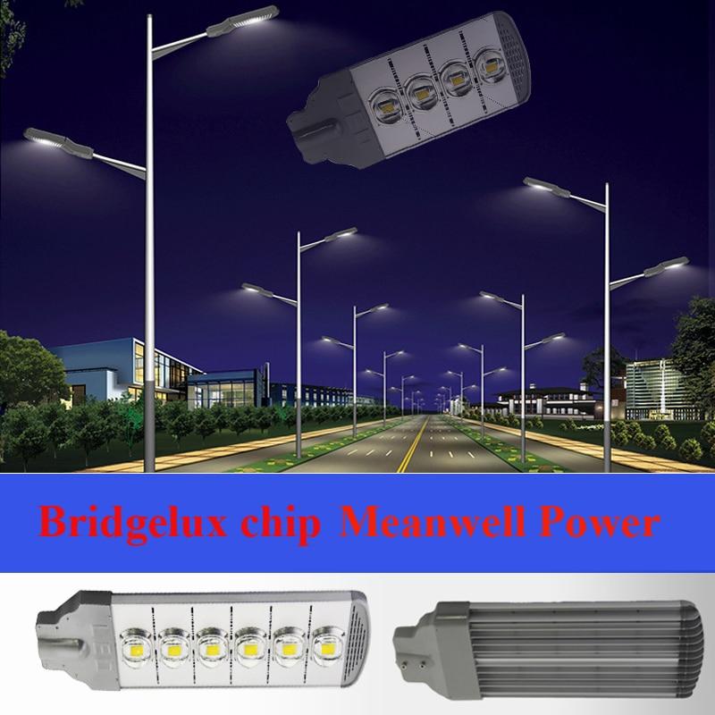 50 100 150 200 250 300W Bridgelux chip LED Street Light IP66 road landscape lamp 130lm