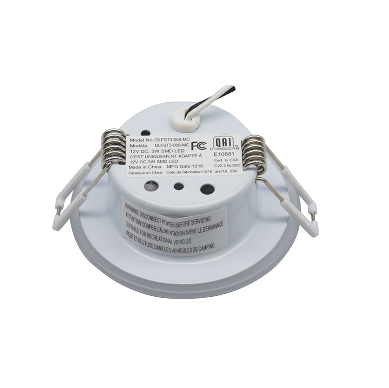Image 3 - 8CM 12V Caravan Light White LED RV Motorhome Caravan Interior Lamp Motor Home Accessories-in RV Parts & Accessories from Automobiles & Motorcycles