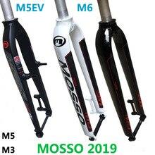 Вилка Mosso M6 M5 M5E M5EV M3 MTB Велосипедная вилка подходит для 26 27,5 29er шоссейная Велосипедная вилка v тормоза передние вилки конусная глянцевая/матовая