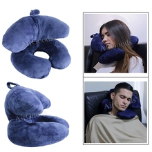 Polyester Pillow Newest Design Travel Pillow For Airplanes,Car,Train,Office,School Nap U Shaped pillow & J Shaped Neck Pillow