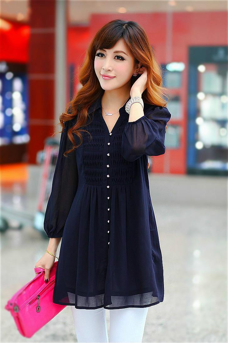 daf4d16c24d94 6xl 5xl Plus Size Lace Xxl Tunics Women Tops tunic ruffle blouse Women  Womens Clothing Autumn Shirt Womens Shirts