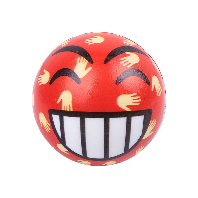 Lovely Christmas Present Mouth Emotion Ball Elasticity Rising Kids Squeeze Toy Antistress Visqueux Squishi Toys For Children A1
