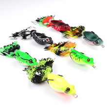 1pcs New Frog Lures PRO BEROS Fishing Bait 6 Colors Fishing Lures 6cm-2.36″/0.46oz-13.18g Fishing Tackle Hard Bait Fishing Lure
