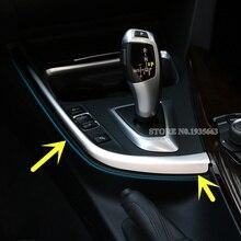Для BMW 3 серии 4 серии F30 F31 F32 F34 внутренняя панель переключения передачи рамка Крышка отделка 2013-2018 1 шт