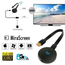 YEHUA G6 1080 P HD TV Stick Wireless WIFI Display Dongle Empfänger 2,4G/5G Media Video Streamer HDMI Miracast Airplay TV Box