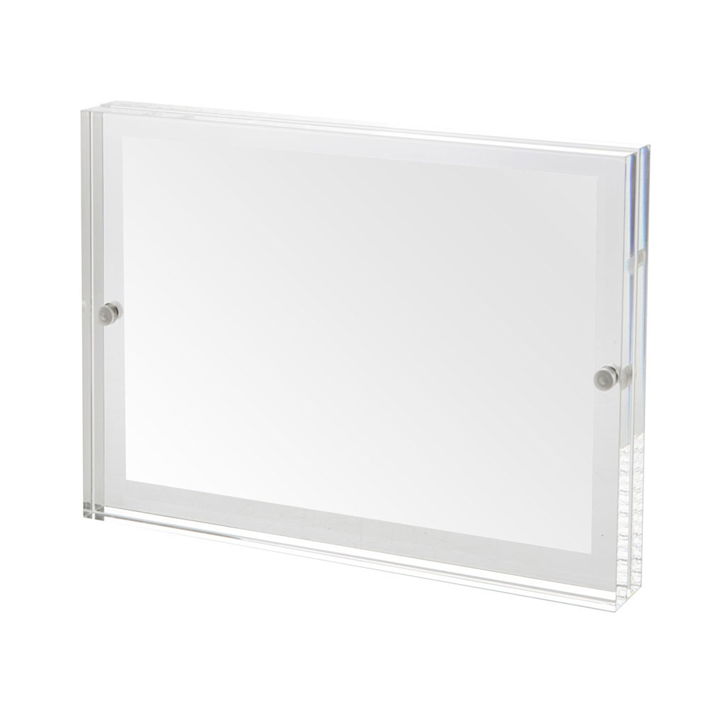 New Designed Free standing Double Sided Display Clear Acrylic ...