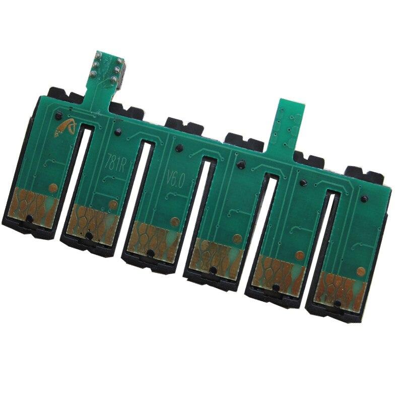 Für epson t0981-t0986 ciss cartridge permanent chip für epson artisan 600 700 800 710 810 725 835 837 730