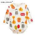 Cielarko girafa zebra manga longa babador baby girl clothing one pieces roupas bonito roupas macacões infantis bebê 132