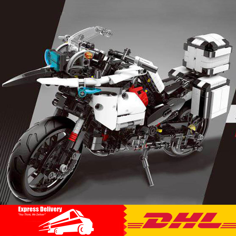 In Stock XINGBAO 03019 The Patrol Motorcycle Set MOC Blocks Bricks Educational Funny Building Toys as New Year Gifts For Kids xingbao 12004 554pcs city girl series the corner of the school set building blocks bricks educational funny toys gifts for kids