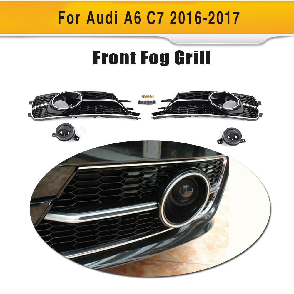 🛒 Front Bumper Lower Grill Grille ACC Hole Trim Piano Paint