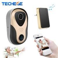 Wifi Doorbell HD 720P Wireless Wired Video Door Phone Intercom Night Vision Motion Detection Alarm Remote