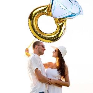 Image 4 - Chicinlife 1Set Braut Zu Werden Ballon Henne Bachelorette Party Braut Zu Werden Hochzeit Engagement Zeremonie Zubehör Dekoration Liefert