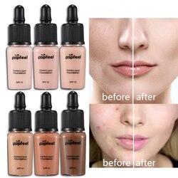 Face Liquid Foundation Base Makeup Whitening Natural Concealer Professional Full Cover Under Dark Skin Matte Make Up Foundation