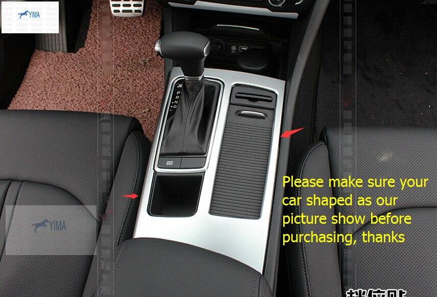 Lapetus ABS Pearl Chrome Stalls Caja de cambio de marchas Soporte - Accesorios de interior de coche - foto 4