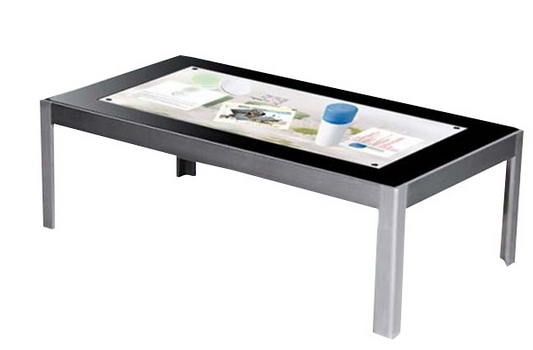 4K Display Industrial Pc Interactive Touch Table WIFI/LAN/3G Network Wall Mount Panel Touch Screen Dispaly