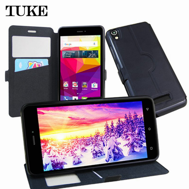 TUKE New Hot! Case for BLU Studio M HD Book Style PU Leather Phone Credit Card Holder Cases Cell Phone