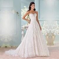 Top Fashion Romantic A Line Lace Vestido De Noiva Vintage Wedding Dress Shopping Sales Online Robe