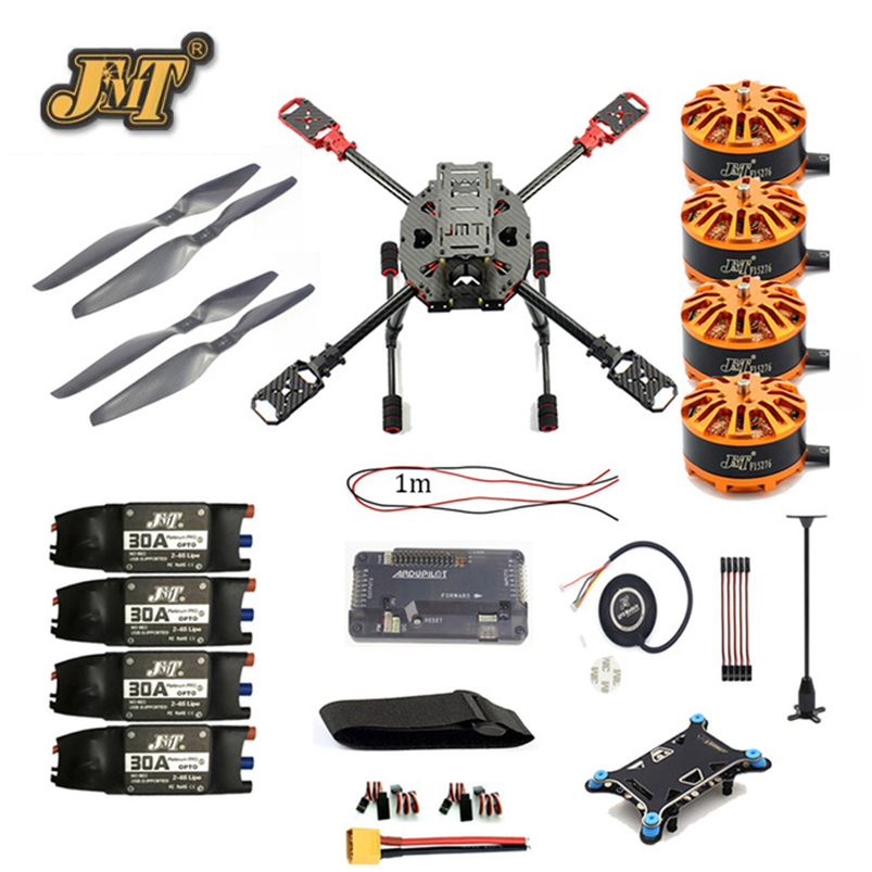 JMT DIY Quadcopter 2.4GHz 4-Aixs RC Drone ARF APM2.8 M7N GPS 630MM Carbon Fiber Frame W/ Motor ESC Props