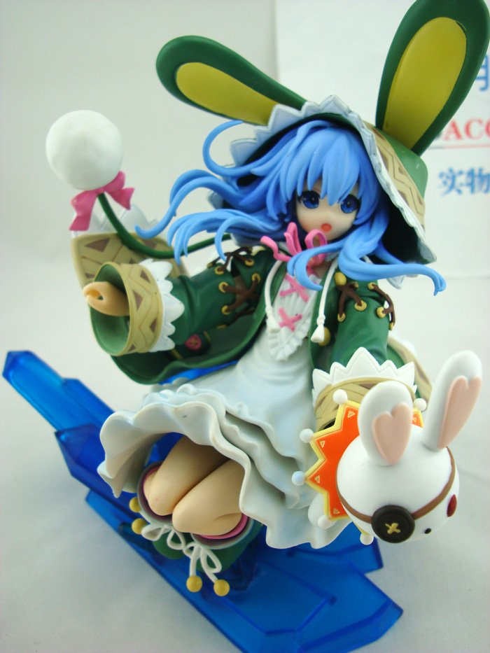 23cm Japanese anime figure Date A Live Yoshino cale Painted PVC Action Figure Model Collection Toy dating war date a live yoshino hermit pvc action figure model toy retail