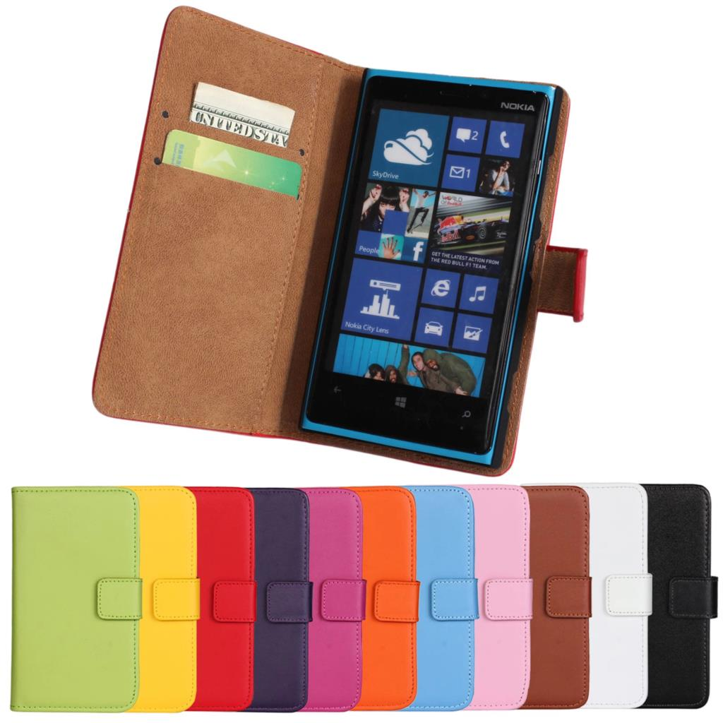 HOT Lumia 920 wallet Leather case For Nokia Lumia 920 Case Magnetic Flip Cover card holder