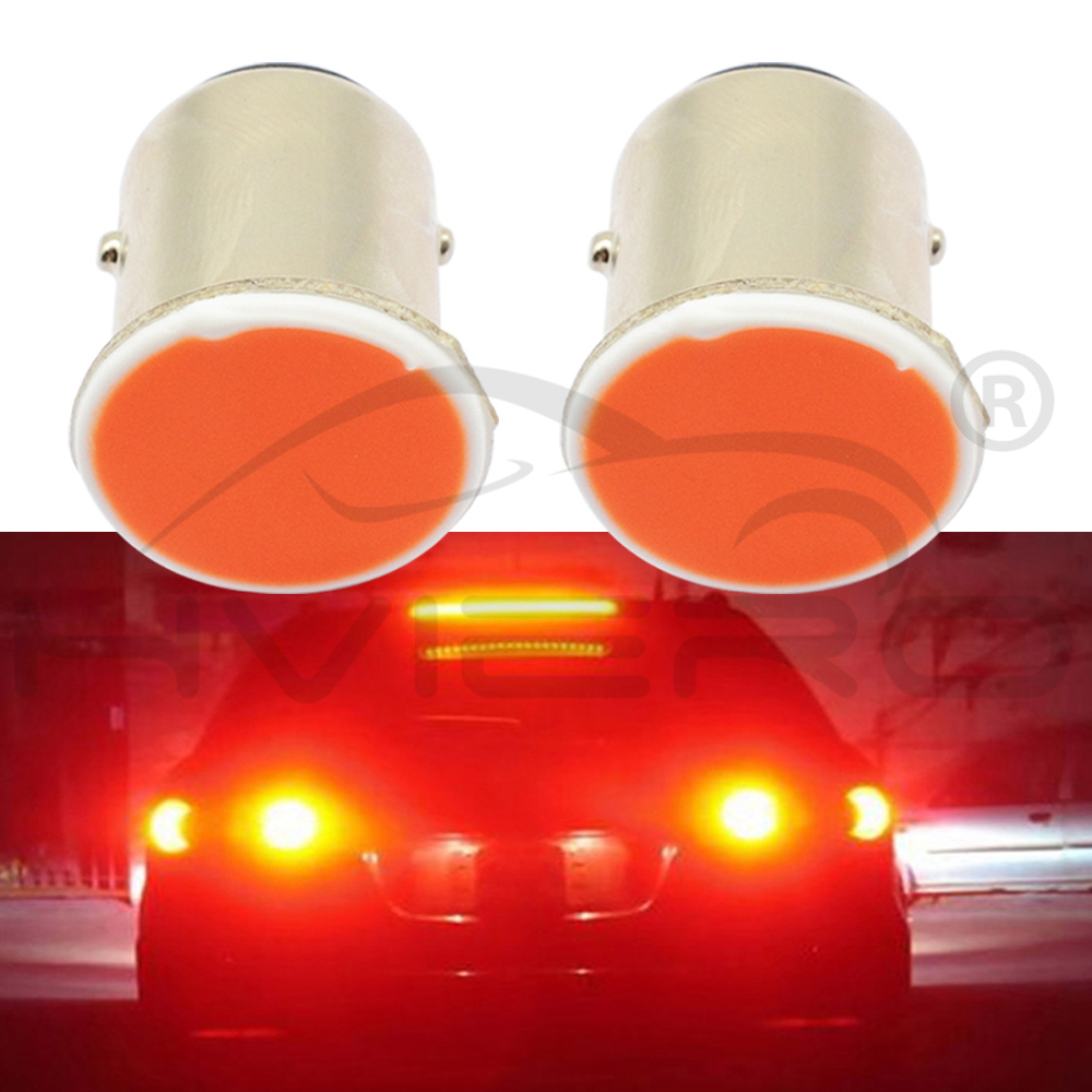 Hviero cob p21w White Red Blue 12SMD 1156 BA15S 1157 BAY15D DC 12v Rear Turn Signal Tail bulbs Backup Truck Light parking Auto Car lamp