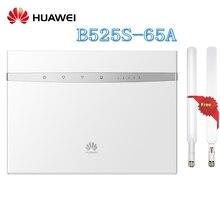 Открыл huawei B525 B525S-65a 4G LTE Cat6 CPE 300 Мбит/с Беспроводной маршрутизатор Поддержка доступ к сети Gigabit Ethernet плюс антенна
