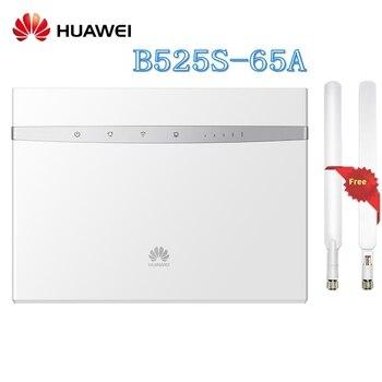 Desbloqueado Huawei B525 B525S-65a 4G LTE Cat6 CPE 300 Mbps Router inalámbrico soporte acceso a red Gigabit Ethernet Plus antena