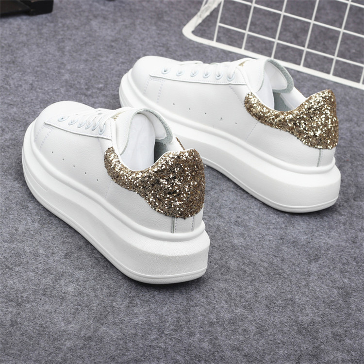 New Fashion Vulcanize Shoes Trainers Women Sneakers Casual Shoes Basket Femme PU Leather Tenis Feminino Zapatos Mujer Plataforma 61