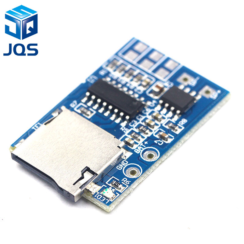 Tzt 1pcs Gpd2846a Tf Card Mp3 Decoder Board 2w Amplifier Module For Arduino Gm Power Supply Module Integrated Circuits Active Components