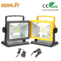 Portable Rechargeable LED Flood Light 15W Waterproof IP65 Camping Outdoor Red Blue White Led Spotlight Floodlight