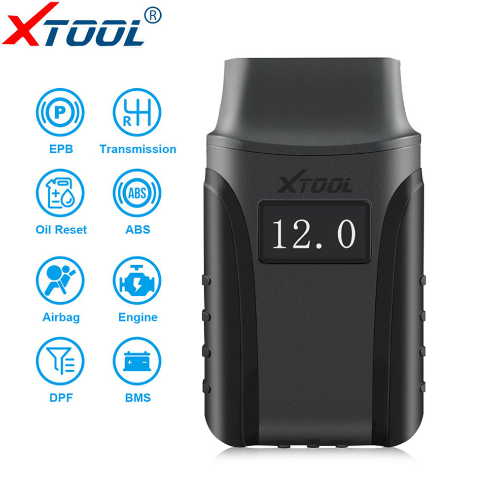 XTOOL A30 All System Car Detector OBDII Code Reader Scanner For EPB Oil Reset Diagnostic Tool