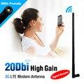 20 dBi SEM FIO WIFI ANTENA BOOSTER WLAN RP-SMA PLUG Para Modem Router PLACA PCI 3G WLAN Antena Para Modem Pci Router