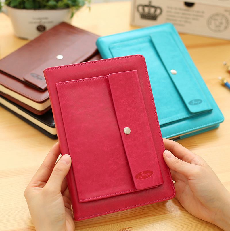 25k Multifunctional Plug in Leather Notebook Hardcover Creative Business Diary25k Multifunctional Plug in Leather Notebook Hardcover Creative Business Diary