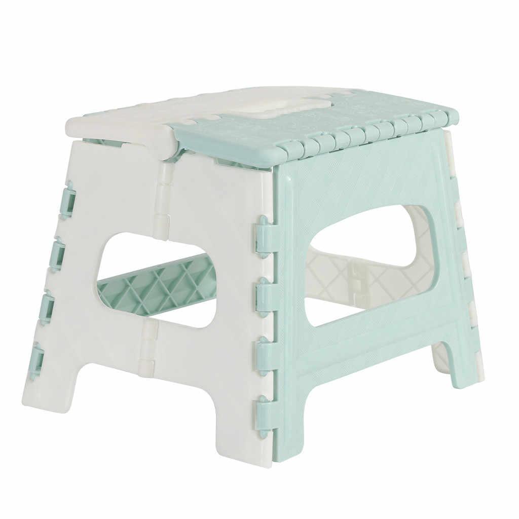 Peachy Portable Folding Step Stool 1Pc Plastic Multi Purpose Machost Co Dining Chair Design Ideas Machostcouk