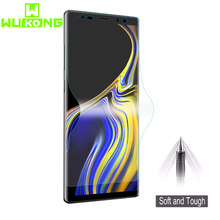Full Cover Soft Hydrogel Film For Samsung S8 S9 Plus S6 S7 edge Note8 For Galaxy Note 9 S10 S10E S10 Plus Screen Protector(China)