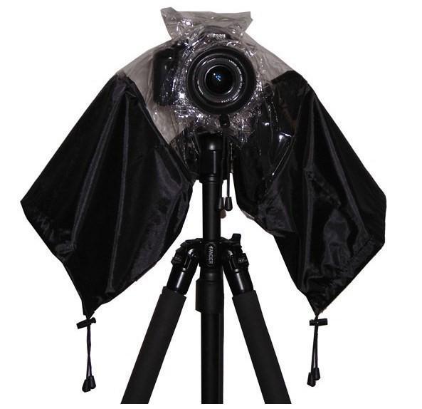 Professionnel En Caoutchouc Caméra Rain Cover Manteau De Sac Protecteur Imperméable Étanche À La Poussière pour Canon Nikon Sony DSLR SLR Pendax