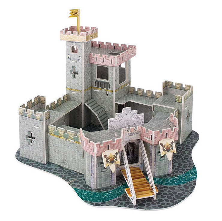 3D Puzzle Paper Model Tower Building Craft Castle