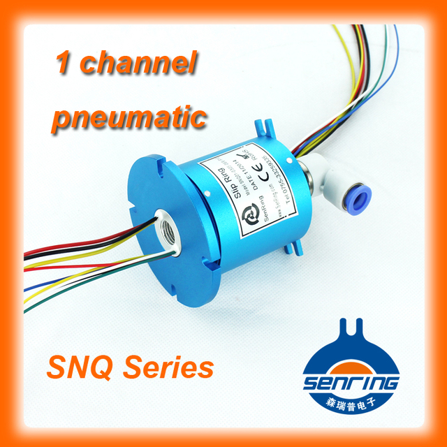 Hydraulic pneumatic electrical slip ring SNQ series with power ...