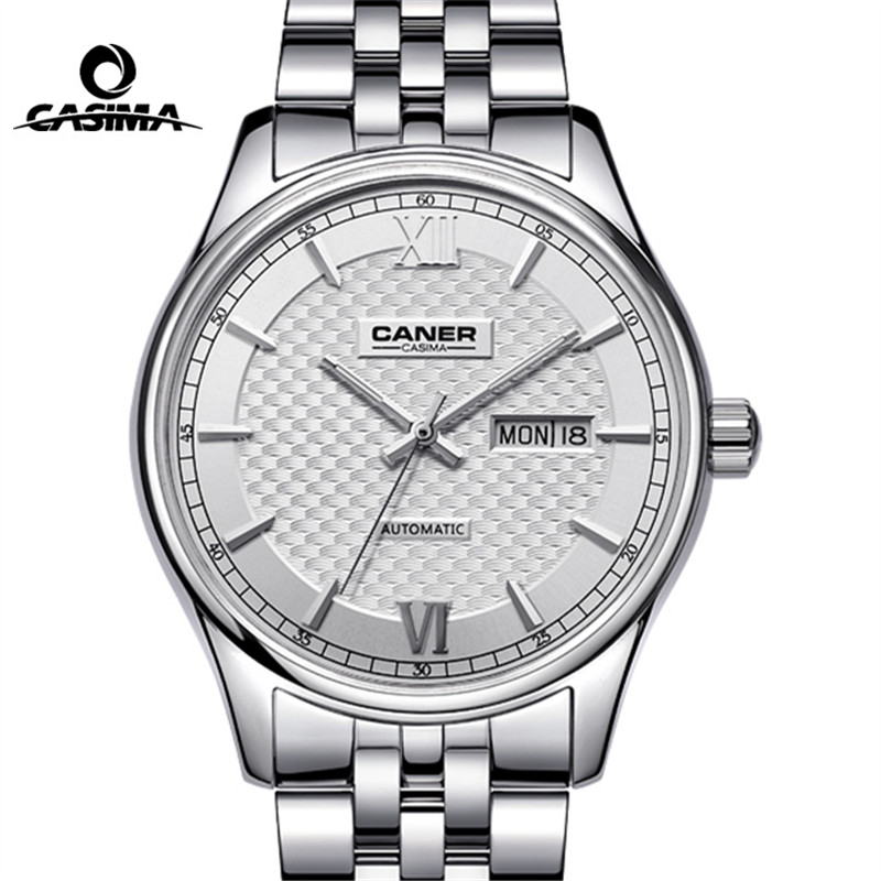 CASIMA Brand Week Date Mechanical Watch Men Sapphire Crystal Business Automatic Wrist Watch Waterproof Clock Relogio Masculino casima brand week date mechanical watch men sapphire crystal business automatic wrist watch waterproof clock relogio masculino