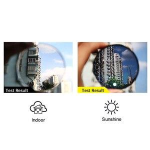 Image 5 - Transition photochromic 접이식 광학 근시 원시 원시 안경 + rx rx 사용자 정의 강도 미니 포켓 리더 케이스 fo