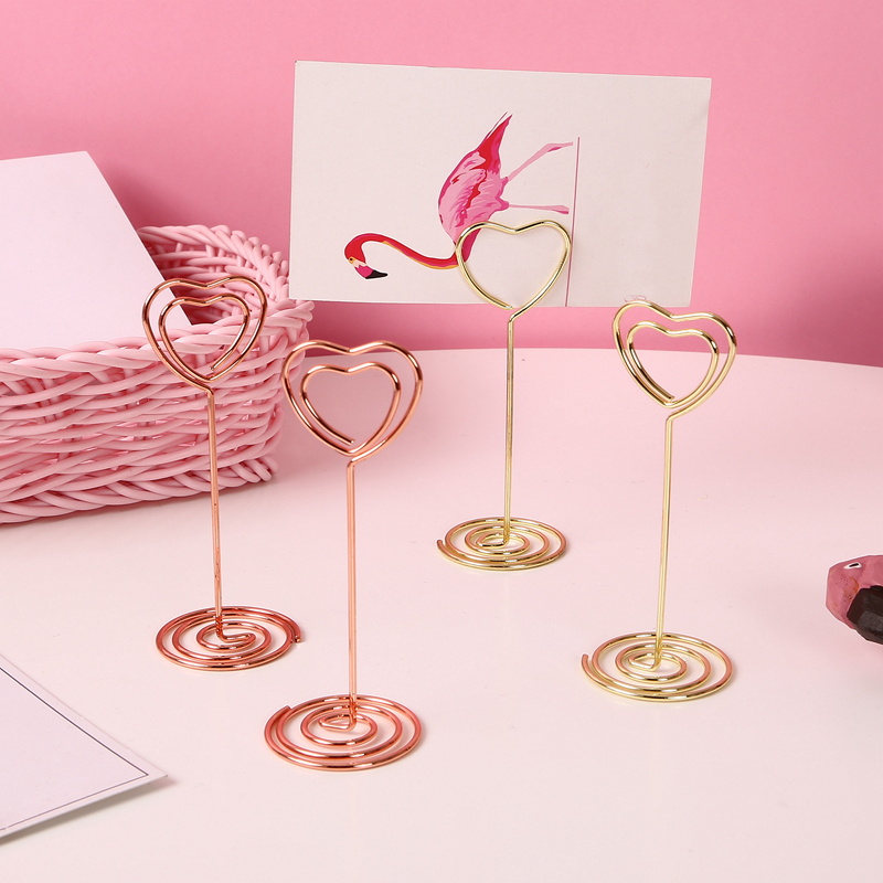 Buy Cartoon Pink Metal Modeling Message Folder Bookmark Paper Clip Hollow Out Metal Binder Clips Notes Letter Paper Clip Stationery for only 1.25 USD