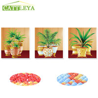 CATTLEYA Special Shaped Diamond Embroidery Trees 5D Diamond Painting 3D Color Diamond Mosaic Needlework Crafts Christmas