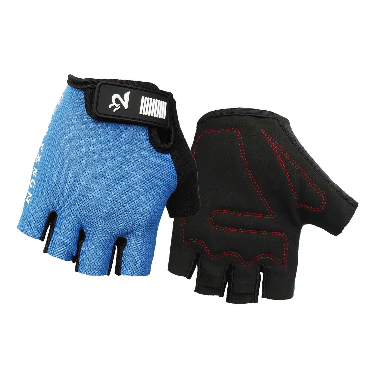 Mens gloves no fingers - Half Finger Cycling Gloves Fingerless For Bicycle Bike Mtb Racing Gloves Without Fingers Male Female Guantes