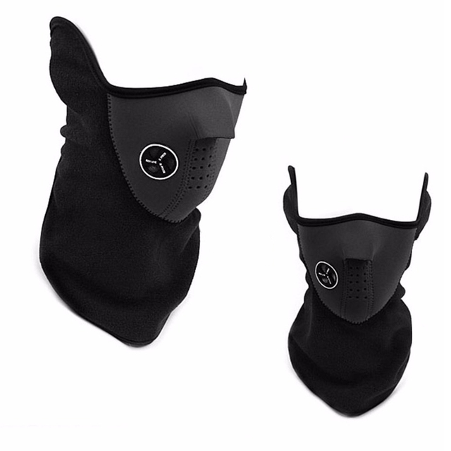 High Quality Motorcycle Face Mask Cover Fleece Unisex Ski Snow Moto Cycling Warm Winter Neck Guard Scarf Warm Protecting Maske 2