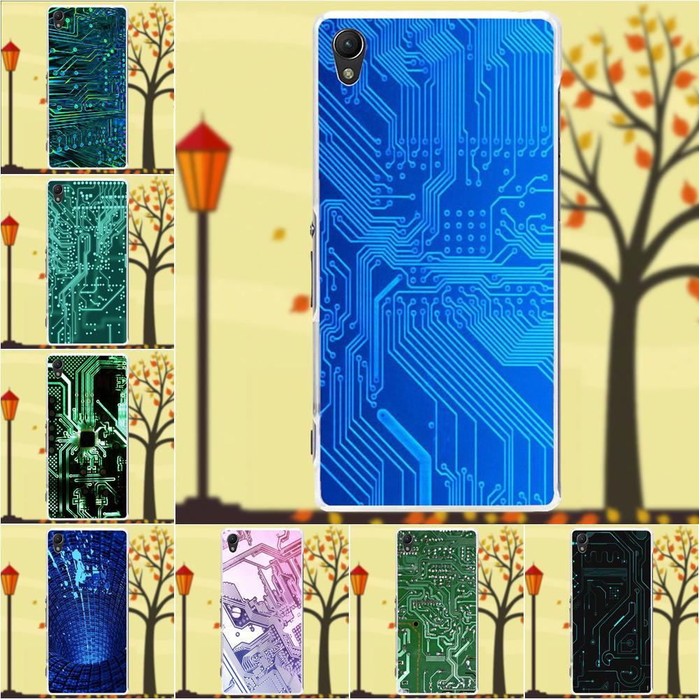 motherboard circuit soft silicone tpu transparent mobile shell for sony xperia z z1 z2 z3 z4 z5 compact mini m2 m4 m5 t3 e3 xa [ 1000 x 1000 Pixel ]