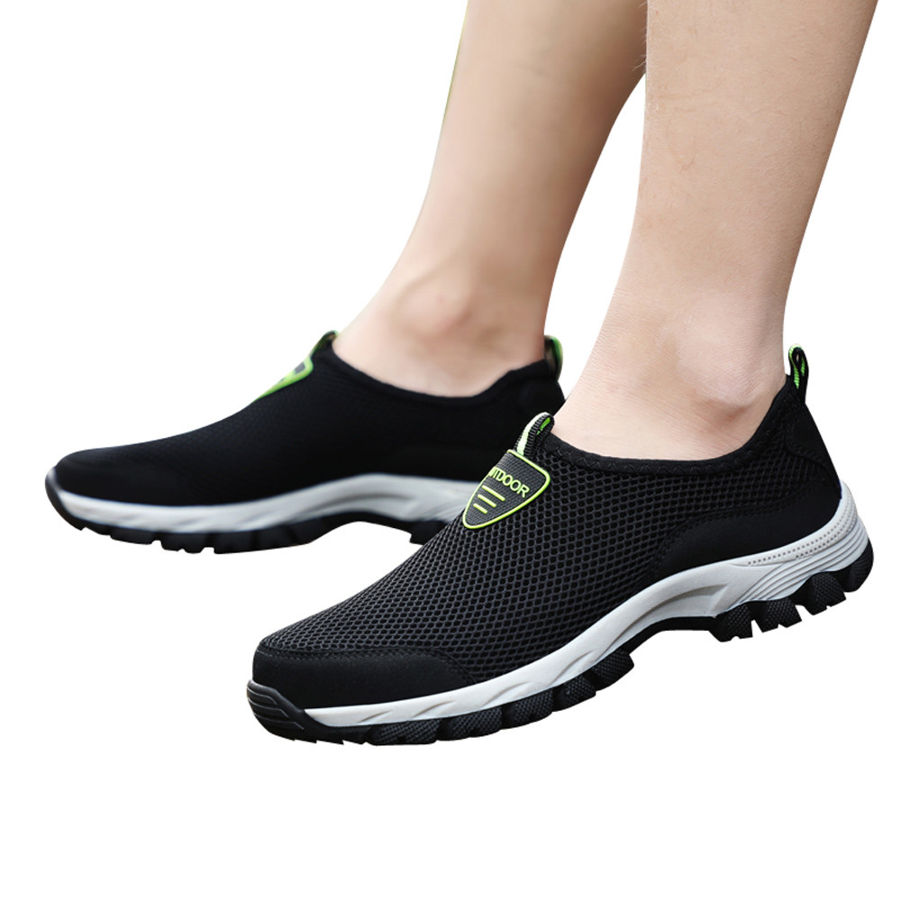 Youyedian Men Casual Shoes Breathable Flat Shoes One-legged Lazy Shoes For Adult Fashion Footwear Zapatillas Hombre #l3 Suitable For Men And Women Of All Ages In All Seasons Men's Casual Shoes Shoes