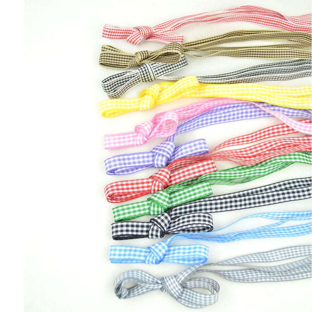 1 pair Silk Ribbon Grid England Flat Shoelaces Canvas Athletic Shoelace Sport Shoe Laces Strings 110cm 1 pairs 110cm athletic sport sneakers flat shoelaces bootlaces shoe laces strings multi color shoelace