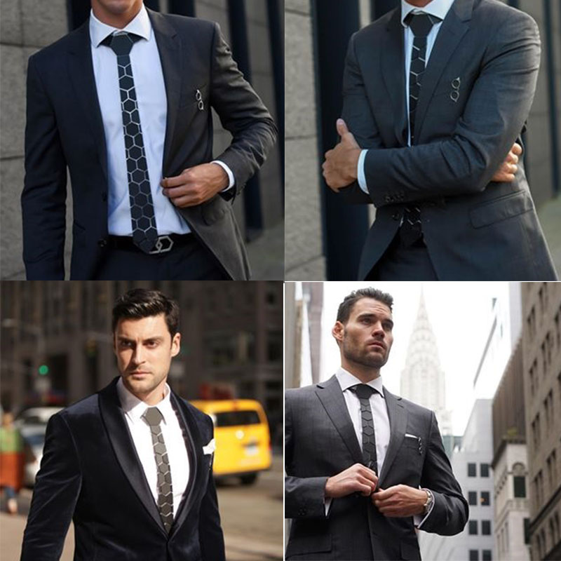 "3/"" Width Adjustable Easy Ties Men Formal Pre-tied Tie for Men Wedding Party Men/'s Zipper Pre-tied Classic Necktie Style A08"