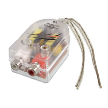 Автомобильный адаптер-переходник с высоким и низким сопротивлением для подключения динамиков к линии RCA