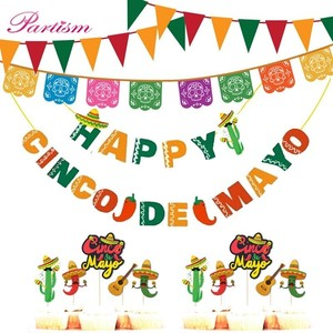 Image 5 - 1Set Mexican Party Foil Balloon Final Fiesta Glitter Cactus Banner Bachelorette Party Decor Summer Wedding Birthday Supplies